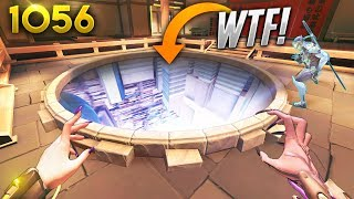 *WTF* NEW HOLE INSIDE THE SPAWN?! | Overwatch Daily Moments Ep.1056 (Funny and Random Moments)
