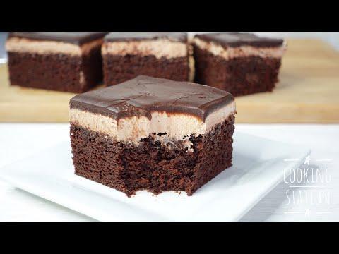 Nutella Chocolate Cake Recipe melt in mouth   เค้กช็อกโกแลตนูเทลล่า