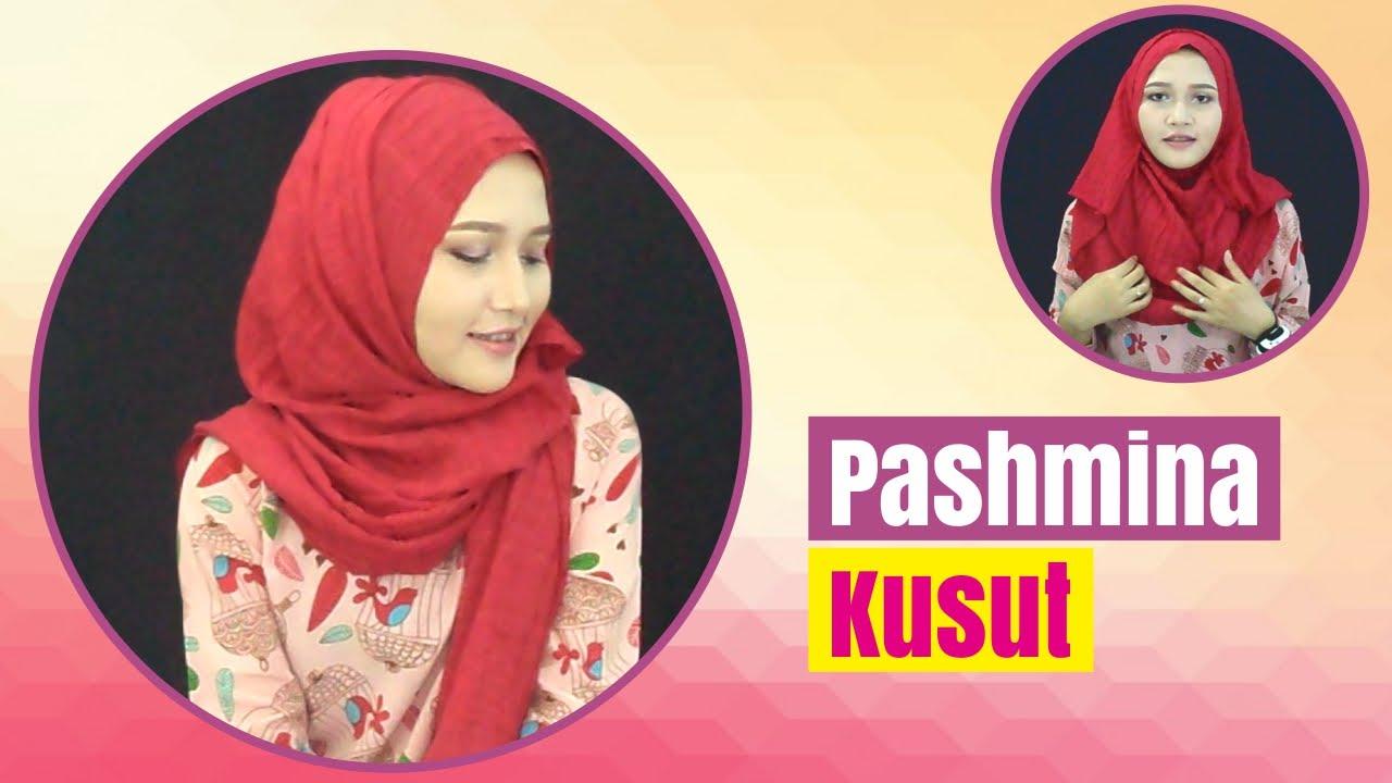 Tutorial Hijab Pashmina Kusut Amalia Kurnia Indonesia 2016