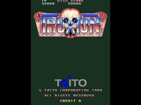 [60fps] Truxton/Tatsujin (タツジン) [Arcade] - Loop 1+ Clear - 1CC - 2,187,930 points - edusword