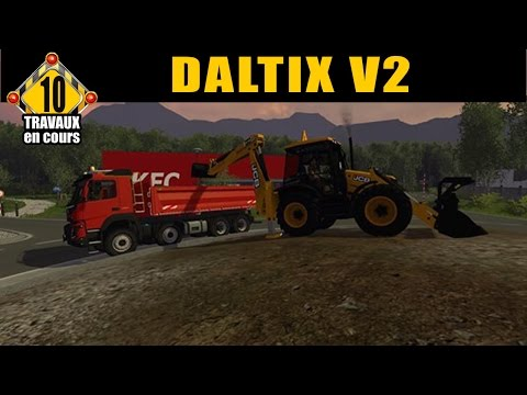 Farming Simulator 15 / Aménagement du Rond Point  / EP 10/ TRAVAUX PUBLIC