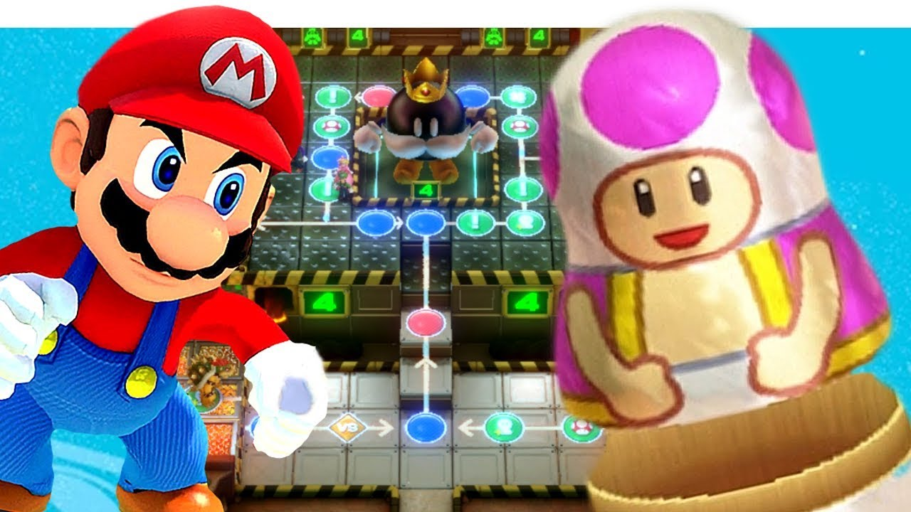 Super Mario Party All Boards Unlocked | Switch | Kamek, Mario, Bowser, Toad + More