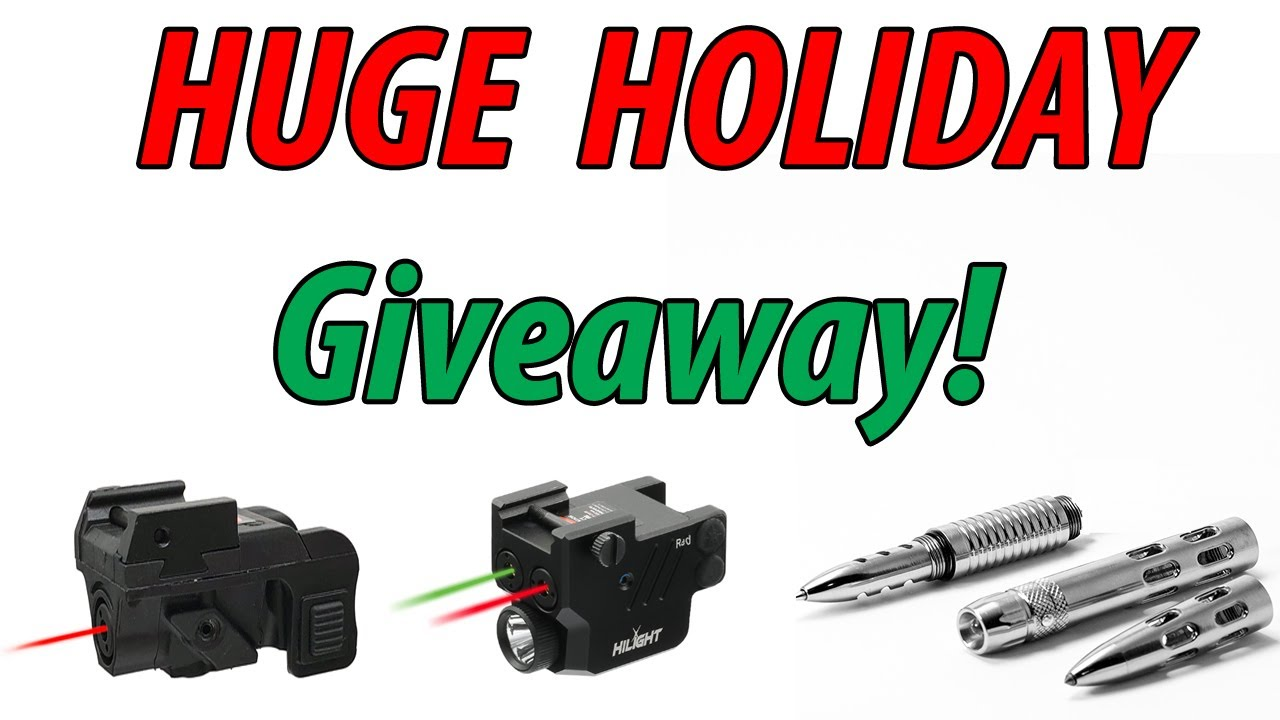 HUGE Holiday Giveaways!