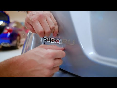 How To Remove Car Emblems (Debadging) WITHOUT DAMAGING THE PAINT!