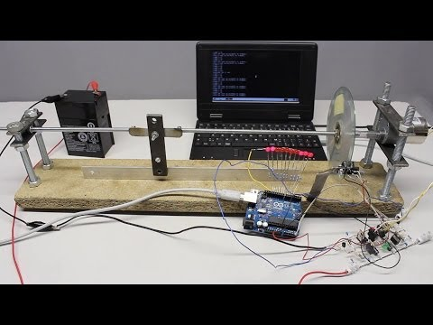 Arduino Uno: control circuits and homebuilt servos