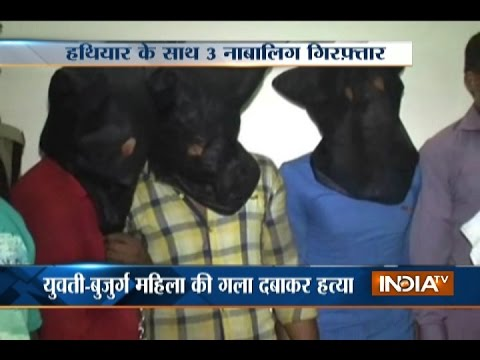 Police nab Haridwar triple murder 3 minor accused