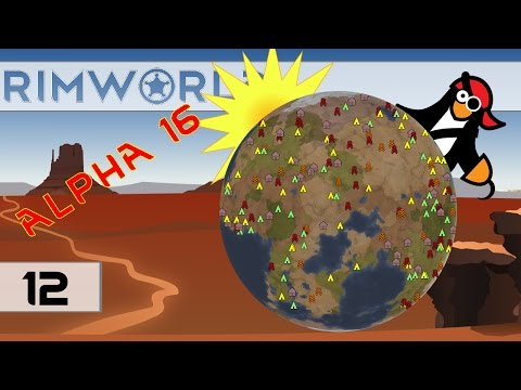 [#12] Let's Play RimWorld Alpha 16: A New Lease on Life | Ri