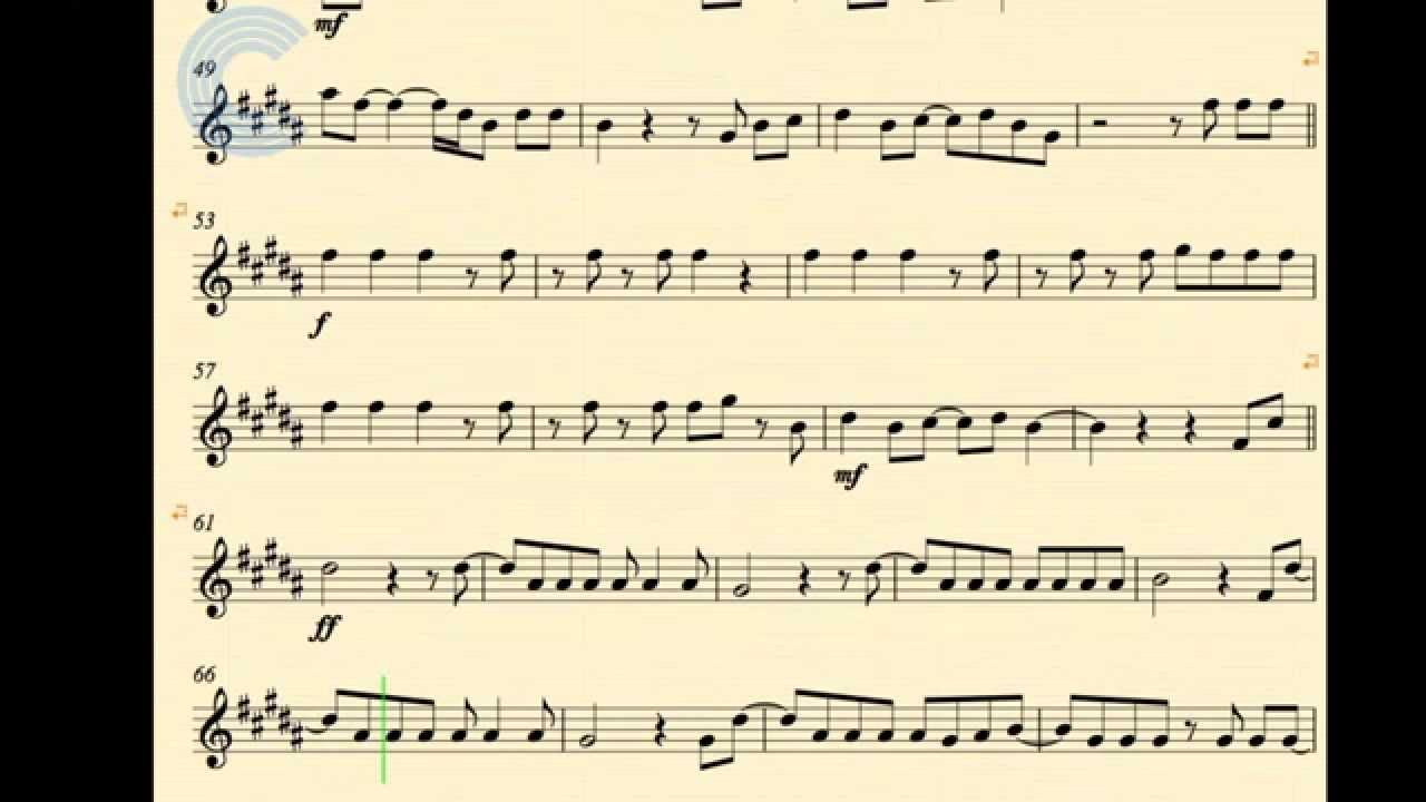 the other side - jason derulo - tenor sax - sheet music, chord, and vocals  - youtube  youtube