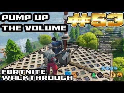 Fortnite Walkthrough #53 - Pump Up The Volume   Love Ranger Jonesy