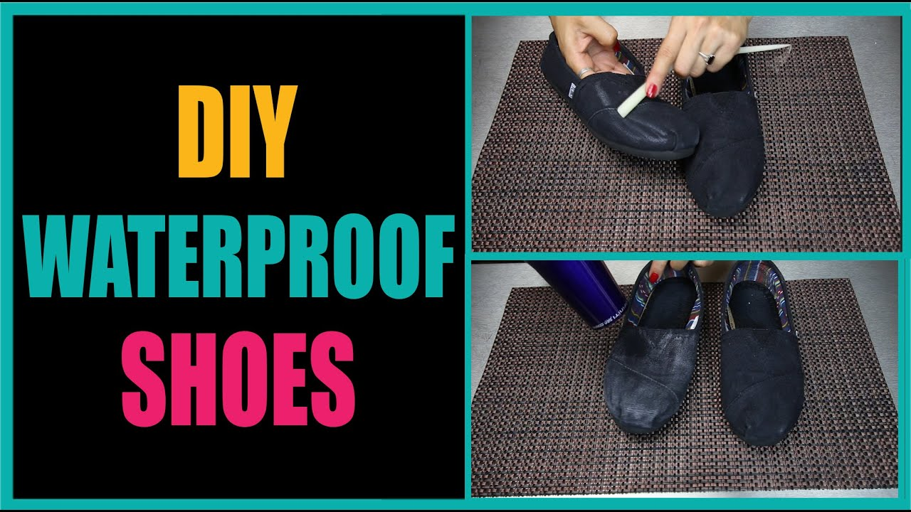 how to make shoes waterproof