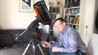 My new Celestron 9.25 with CGEM mount