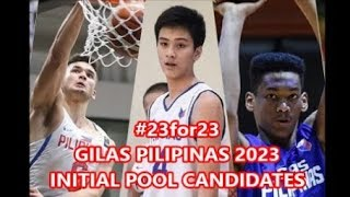 #23for23 - Coach Chot's Gilas Pilipinas 2023 Initial Wish List