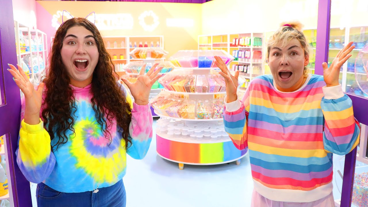 WE MADE THE WORLDS LARGEST SLIME SUPPLY ROOM! SLIMEATORY WORLD!!!!