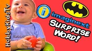 Imaginext City SURPRISE Word HobbyBabyGator + Batman Joker Toys by HobbyKidsTV