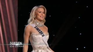 Evening Gown - Miss Universe Sweden Ida Ovmar
