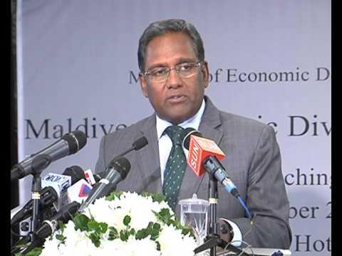 Launching of Maldives Economic Diversification Strategy
