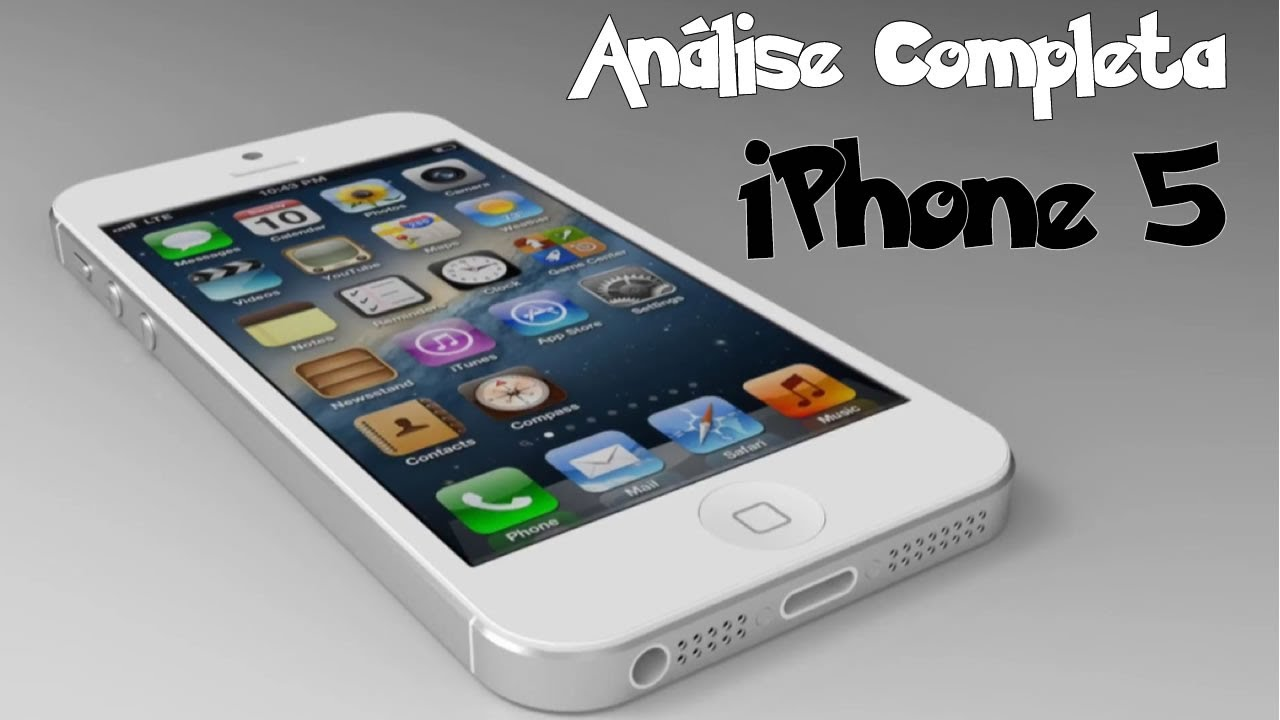 iphone 5 review iphone 5 an 225 lise completa review 11034
