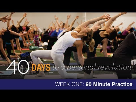 40 Days To Personal Revolution: Week One 90 Minute Audio Yoga Practice