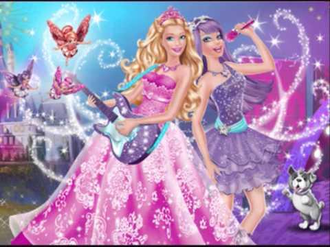 Barbie la princesse et la pop star les photo du film youtube - Barbie et la princesse pop star ...