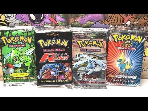 Opening VINTAGE Pokemon Packs! (VERY RARE!)