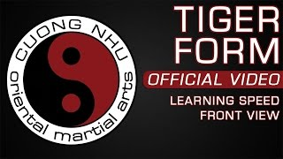 Cuong Nhu Tiger Form - Official Kata - Learning Speed - Front View