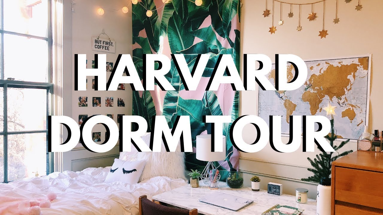 COLLEGE DORM ROOM TOUR 2018 | Harvard University - YouTube