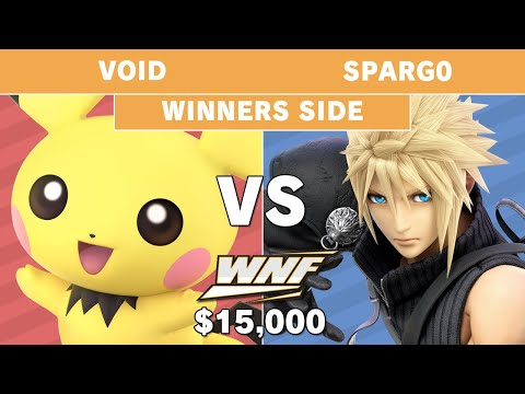 WNF 2.6 $15K - VoiD (Pichu) vs Sparg0 (Cloud) - Pools - Smash Ultimate