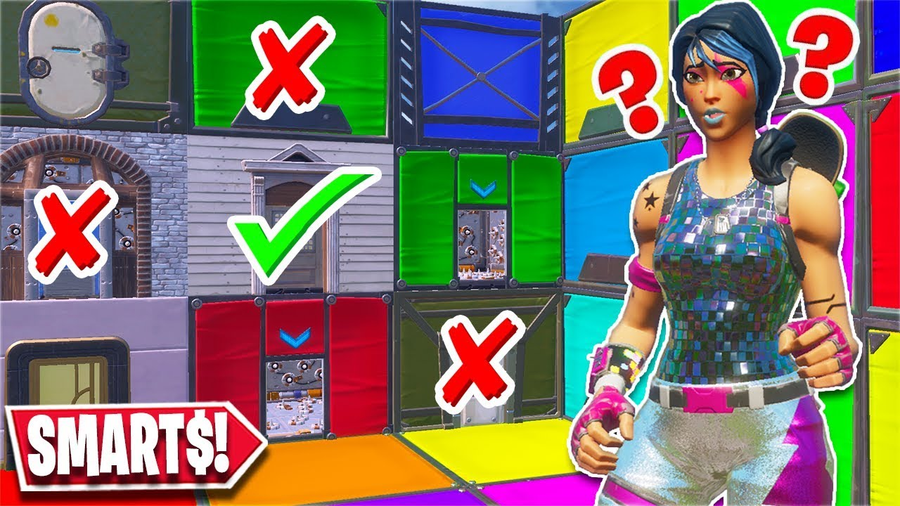 This 100 Level Escape Room Is For Geinuses Only Fortnite Creative Youtube