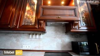 Кухня из массива липы Asti Luce(Классическая кухня из итальянской коллекции Asti с декоративной аркой с колоннами, капителями и изящными..., 2015-07-28T07:56:30.000Z)