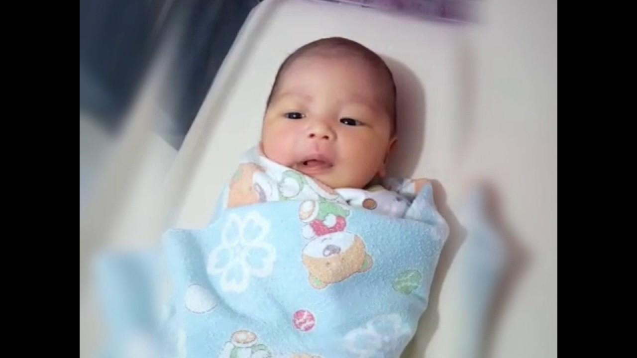 Tingkah Bayi Lucu Baru Lahir Youtube