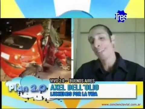 2011 - Canal 3 Rosario - Axel Dell' olio sobre tránsito en Argentina y consejos para vacaciones