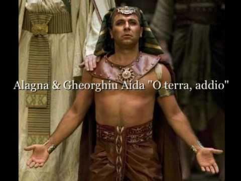 """Alagna & Gheorghiu Aida """"O Terra, Addio"""""""
