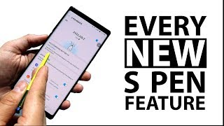 EVERY New Galaxy Note 9 S Pen Feature (pre launch)