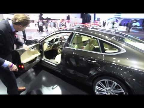 Audi A7 & R8 GT Design Tour   LA Auto Show