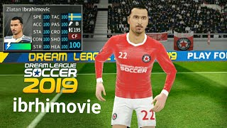 How To  Ibrahimovic ⚫ Dream League Soccer 2019