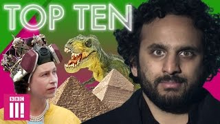 TOP TEN: Weird Conspiracy Theories (feat. Nish Kumar)