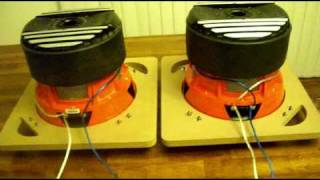 How to wire subwoofers    series, parallell, and series parallel wiring
