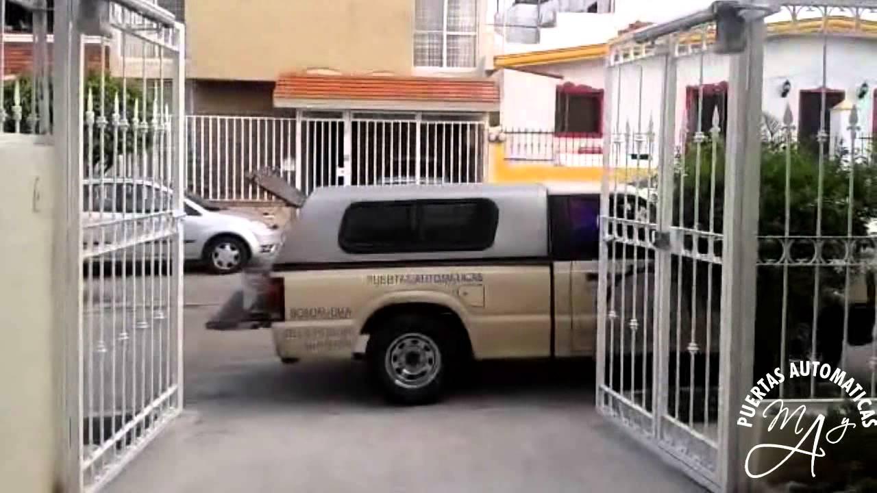 Port n abatible hacia afuera youtube for Puertas que abren hacia afuera