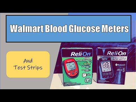walmart-blood-glucose-meter-and-test-strips
