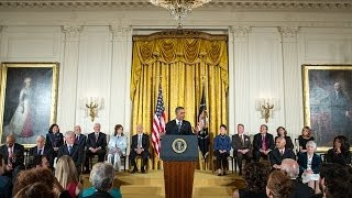 President Obama Honors 2013 Medal of Freedom Recipients