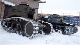 как сделать танк Т-I  за пять минут?/How to make a tank PzKpfw I B in five minutes?