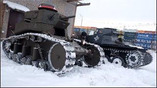Download Как сделать танк Т-I  за пять минут?/How to make a tank PzKpfw I B in five minutes? Mp3 and Videos