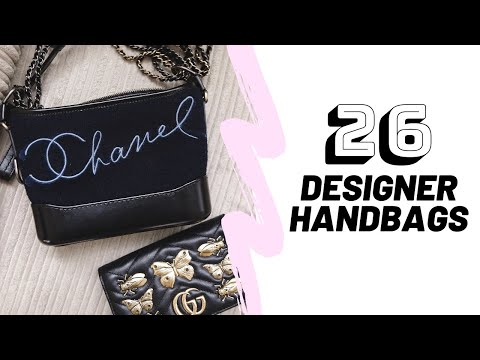 Designer Handbag Collection 2019 // Chanel, Gucci, Chloe, Louis Vuitton & More // Sinead Crowe thumbnail