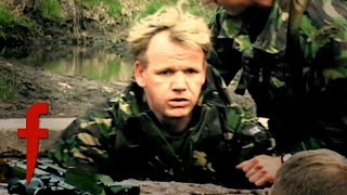 Gordon Ramsay Trains & Cooks With The Royal Marines | The F Word