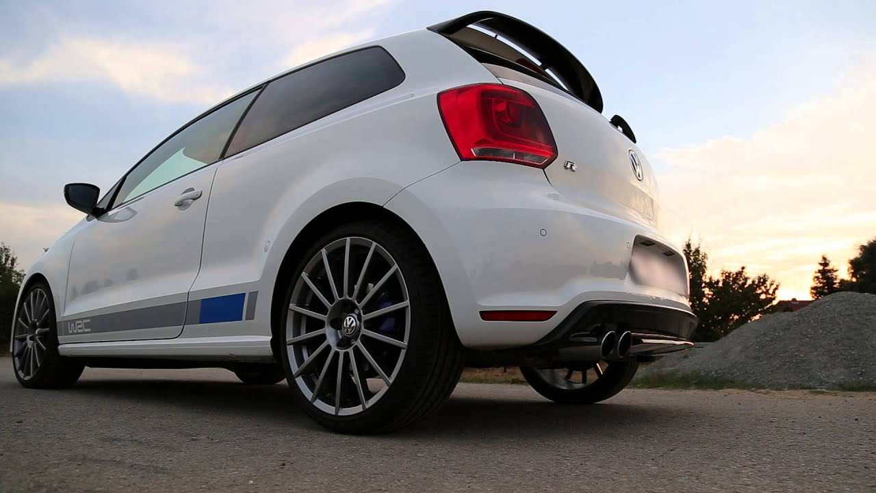 vw polo r wrc exhaust sound auspuff street youtube. Black Bedroom Furniture Sets. Home Design Ideas