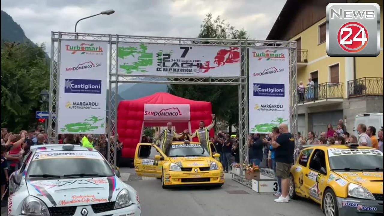 Premiazioni Rally 2 Laghi 2021