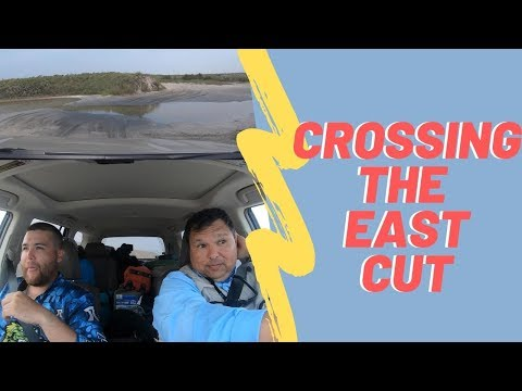 South Padre Island Fishing - How To Drive To The East Cut! Part Deux