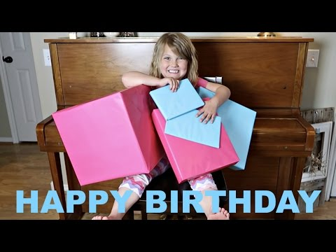 PAYTON'S 7th BIRTHDAY CELEBRATION! | PRESENT OPENING🎁