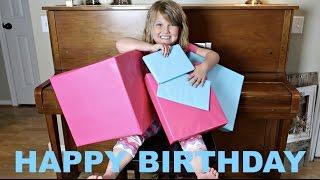 PAYTON'S 7th BIRTHDAY CELEBRATION! | PRESENT OPENING🎁