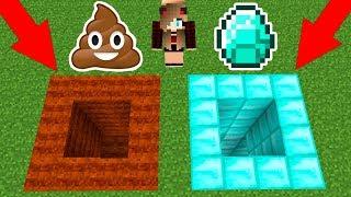 Секреты игры Майнкрафт - Спускаемся в шахту и ищем алмазы!